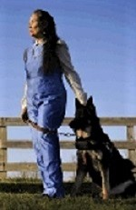 DeAnna Noriega and her guide dog