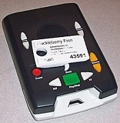 The National Library Service Talking Book digital player