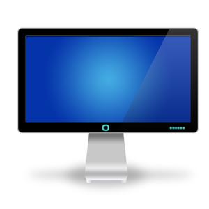 A computer monitor