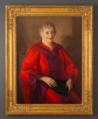 oil portrait of Helen Keller