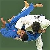 a Judo throw