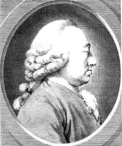 Engraving of Charles Bonnet in profile. File source: Wikimedia Commons. This image is in the public domain because its copyright has expired