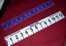 rulers, large print