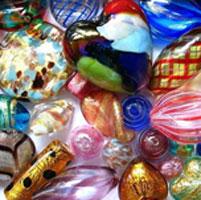 venetian and murano glass beads