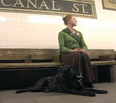 This is an image of a scene from the film Going Blind