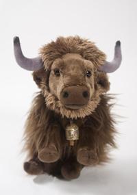 stuffed yak, courtesy of the Rubin Museum of Art