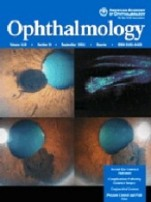 Cover of the journal Ophthalmology