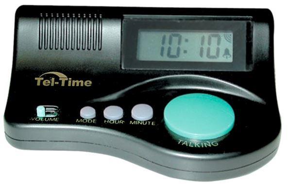 EZ Aqua Button Talking Clock