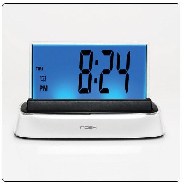 Moshi IVR Voice Controlled Talking Alarm Clock