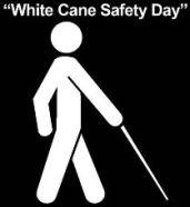 White Cane Safety Day logo