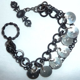 bracelet with braille
