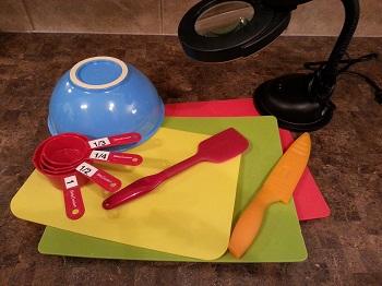 multicolored kitchen utensils