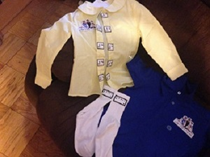 braille labels for children's clothes