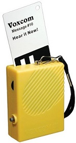 Voxcom III with reading card