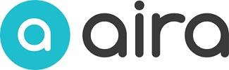 Aira logo showing eye and word Aira