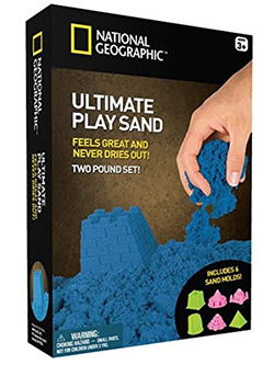 National Geographic Ultimate Play Sand in Blue