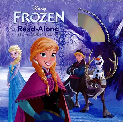 Frozen readalong story book and CD