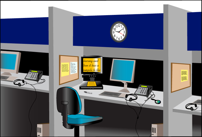 Virtual Call Center - Low Vision