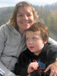 Emily and her son, Eddie