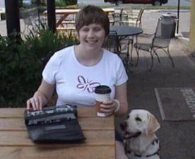Nickie y su perro Julio