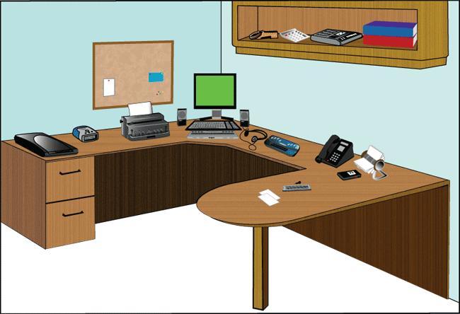 Virtual Office Illustration - Blind Users
