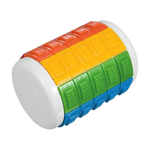 Eni cylindrical puzzle with braille markings