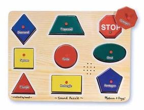 shapes and sounds puzzle